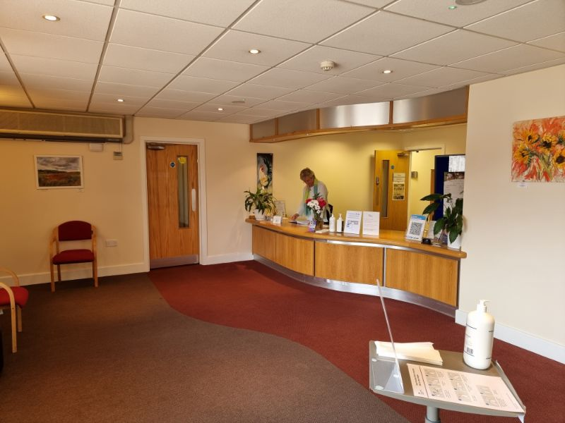 arch clinic reception
